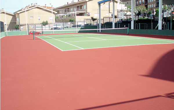 Construcción Pistas de Tenis - TenyAqua